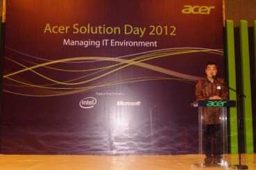 Acer Solution Day 2012: Managing IT Environment – Live Blogging