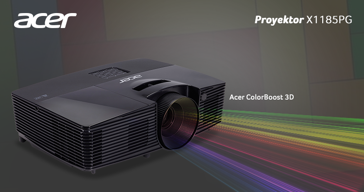 Proyektor Acer X1185PG